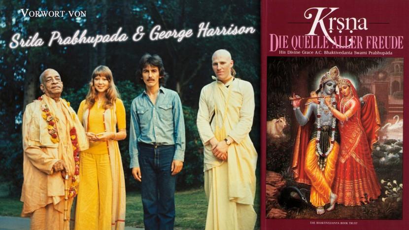 Srila Prabhupada und George Harrison